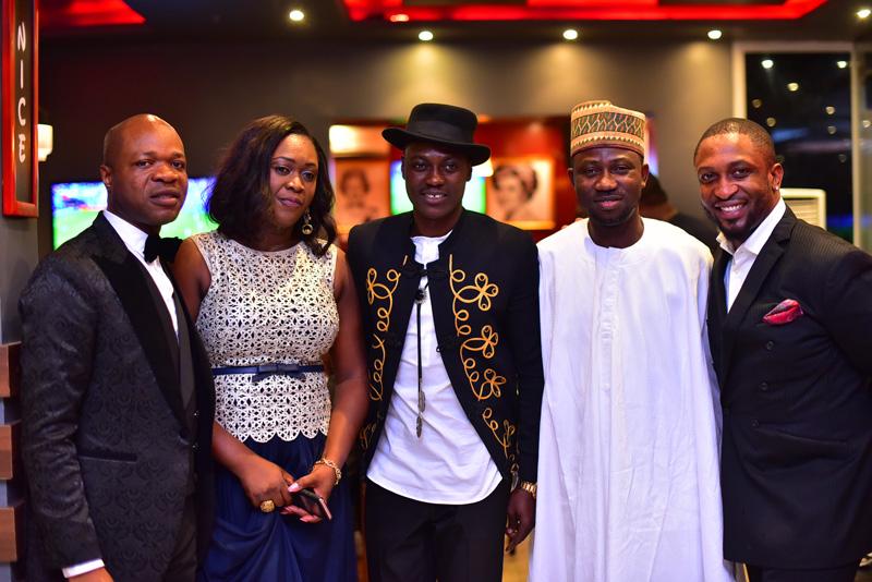 Banky W, Iyanya, Kola Adewale, Darey, Olisa Adibua, Others Celebrate Marketing Guru Kelvin Orifa At Black Tie Event
